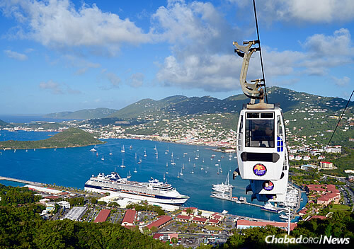 With more than 1.5 million passengers per year, Charlotte Amalie is the busiest cruise port in the Caribbean.